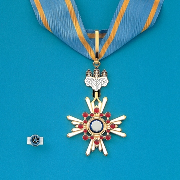 勲章の種類(瑞宝章)- 内閣府